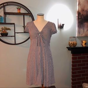 Checkered dress SMALL